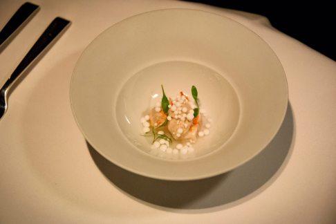 Restaurant Cinco: thai shrimp