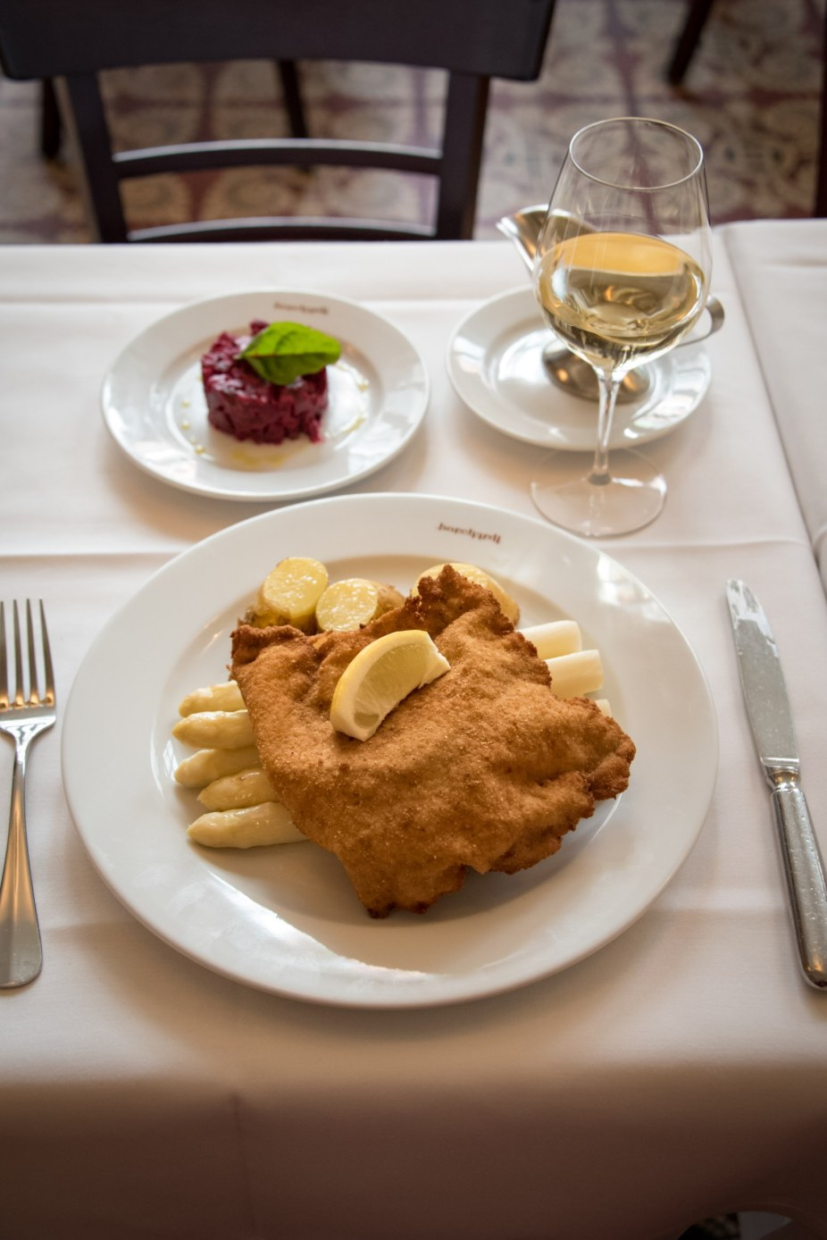 Borchardt, Ultraclassic Berlin Restaurant - The Famous Schnitzel