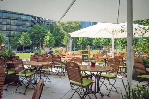 Brasserie Desbrosses, Berlin: The patio