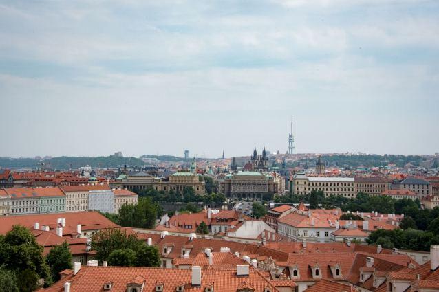 Terasa U Zlaté studně - Rooftop Restaurants in Prague: The View
