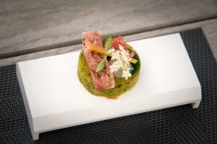 Bistro Margaux, Starred Restaurant, Brussels: The amuse-bouche