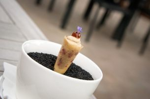 Bistro Margaux, Starred Restaurant, Brussels: The amuse-bouche