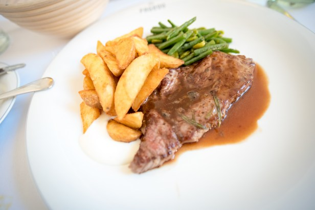 Munich Restaurants: Pageou - Steak frites