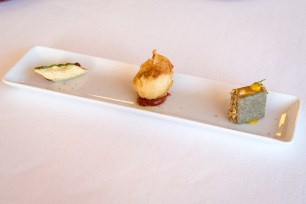 Imago Restaurant in Hassler Hotel Rome - The amuse-bouche
