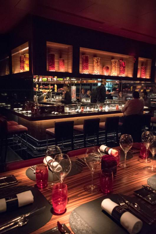 L'Atelier Robuchon in Montreal - The décor