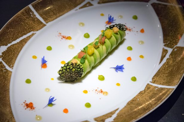 L'Atelier Robuchon in Montreal - King crab and avocado cannelloni
