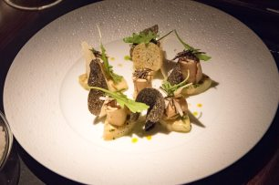 L'Atelier Robuchon in Montreal - Potato, truffle, foie gras