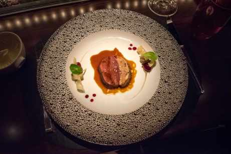 L'Atelier Robuchon in Montreal - The deer and foie gras dish
