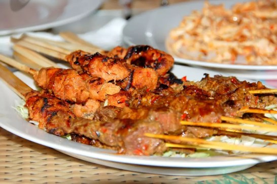 Satay - Bali Travel Blog - This is a copyright-free photo - Where to stay in Bali