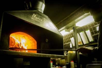 Restaurant Vieux-Montréal: Mangiafoco - Le four à pizza