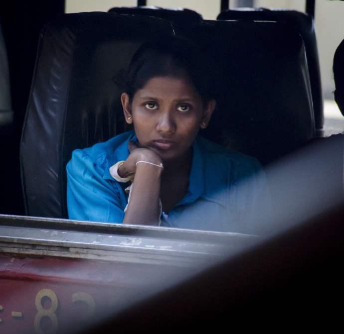 Voyages au Sri Lanka: Une passagère