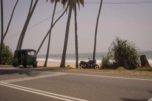 Voyages au Sri Lanka: Une passagère: La vue, de la route