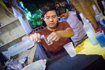 Oaxaca Mezcal Festival: Yet another shot.
