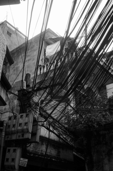 My Impressions of Hanoi: The famous overloaded electrical posts