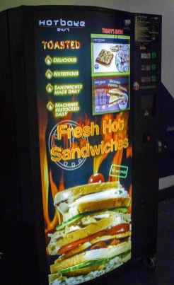 Visit Singapore City: Sandwich Machines!