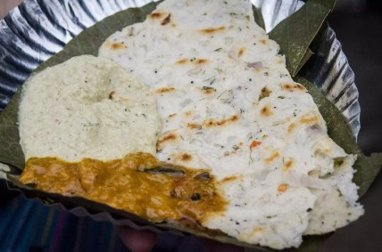 Places to visit in Bangalore: Onion Chapati and Curry