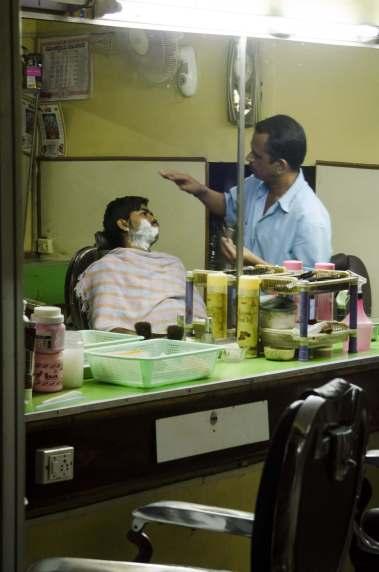 Visite de Bangalore - Chez le barbier