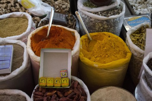 Goa Beach: Spices at the Market