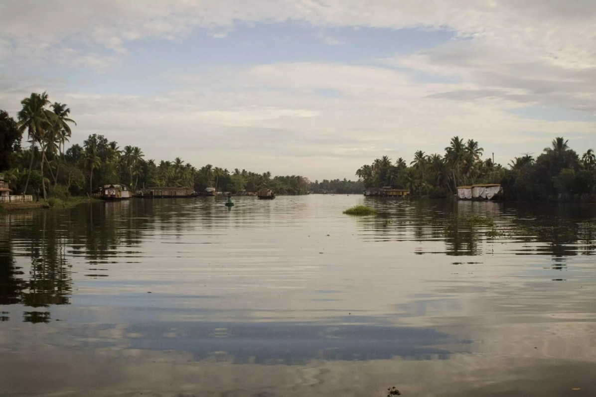 The Backwaters of Kerala, India