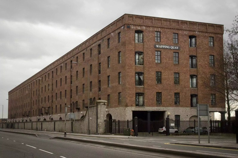 Why is English food so bland: Wapping Quay, Liverpool, England