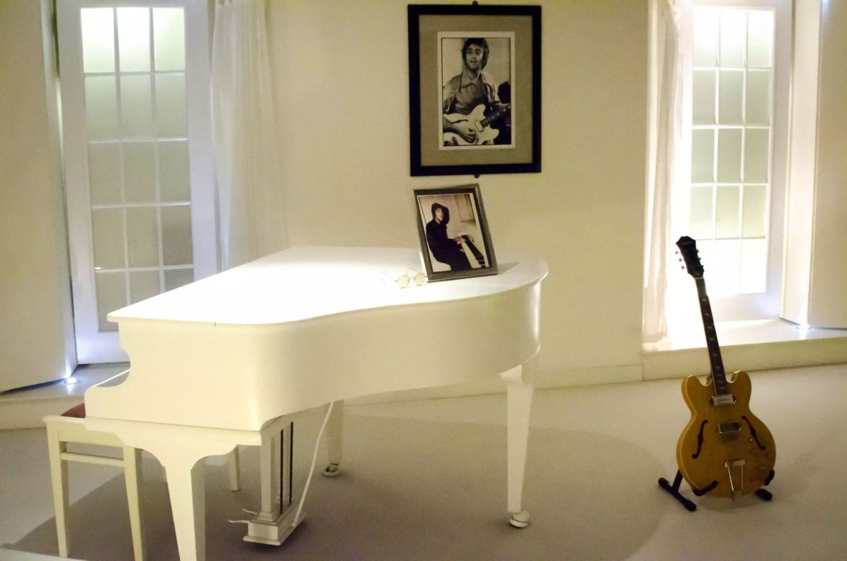 John Lennon's piano - Things to do in Liverpool, England Where to stay in Liverpool
