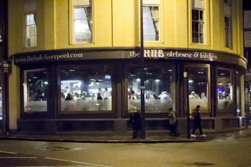 """""""What's English food?"""": The Hub in Liverpool, England Where to stay in Liverpool"""