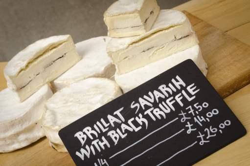 Quartiers de Londres: Brillat Savarin à la truffe au Borough Market