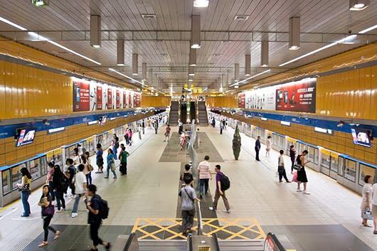 Most Beautiful Subway - Taipei City Hall MRT Station