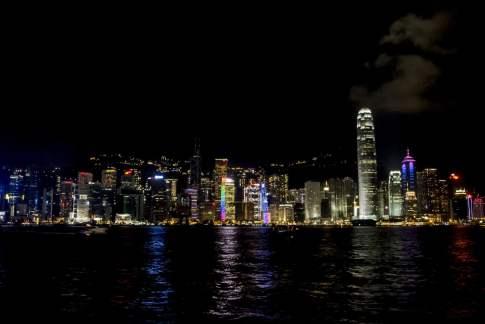 La ligne d'horizon de Hong Kong