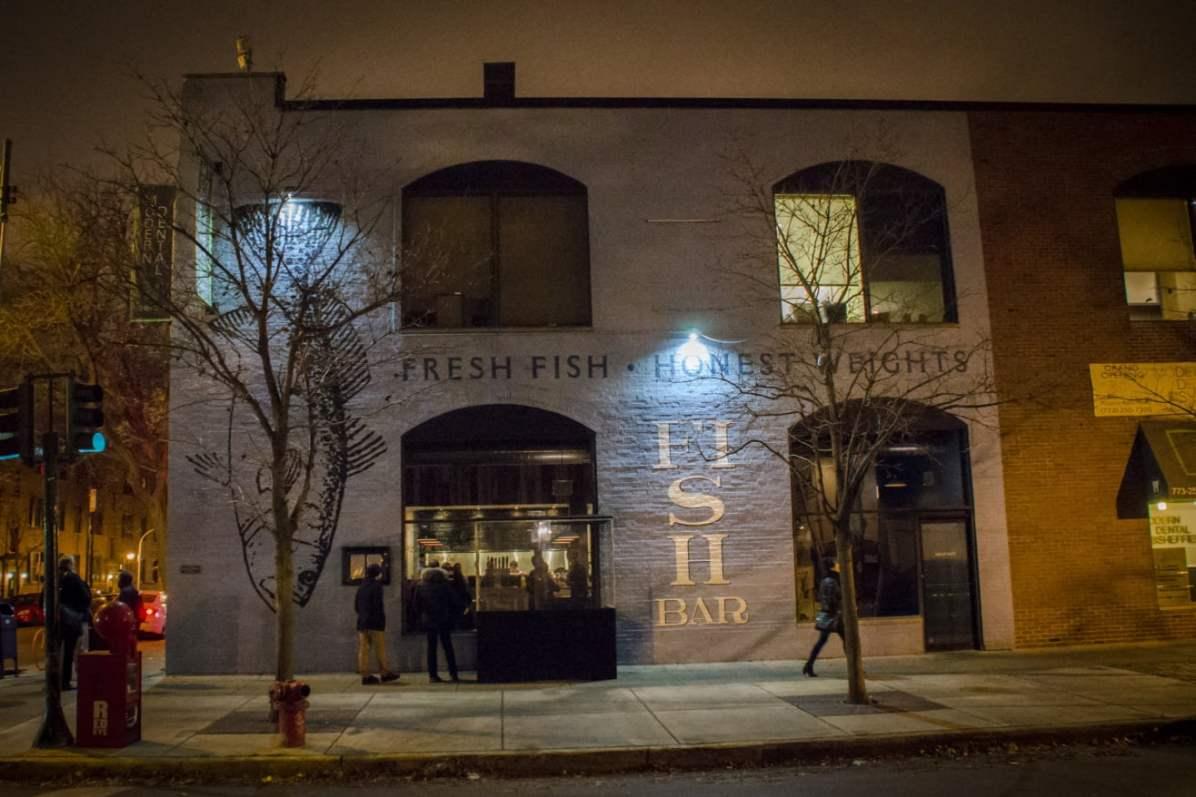 Visiter Chicago: FishBar