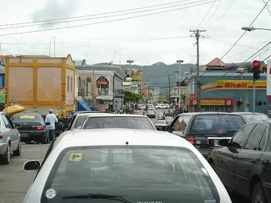 Downtown Montego Bay