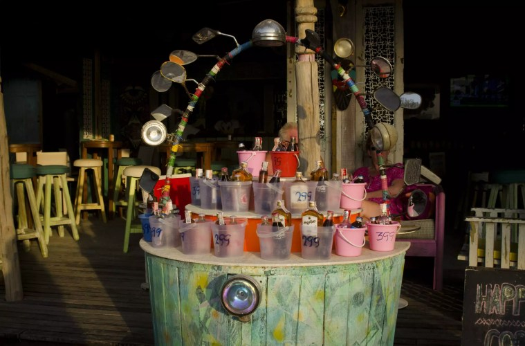 New Years Eve Vacations: The famous buckets on Ko Phangan Island in Thailand