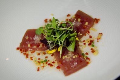 Sashimi de thon albacore