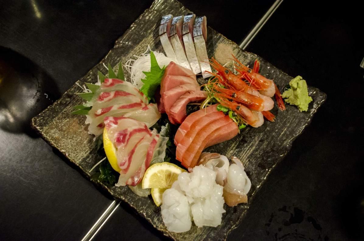 Visiter Tokyo: Sashimi