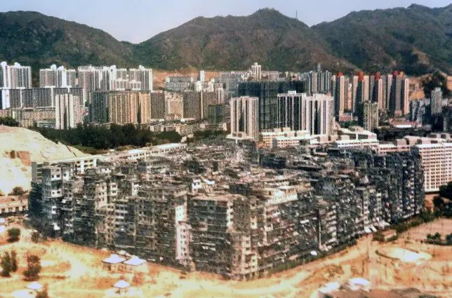 Kowloon Walled City - Photo libre de droits