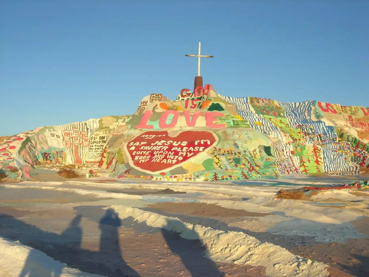 Salvation Mountain - Photo libre de droits