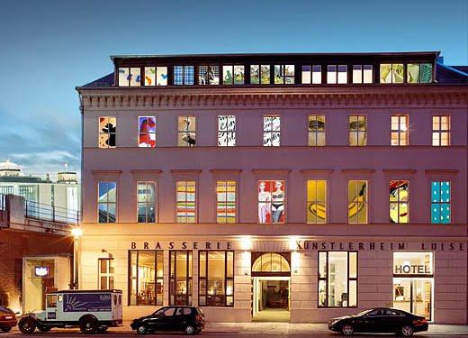 Le Arte Luise Kunsthotel, Berlin, Allemagne - Photo: luise-berlin.com