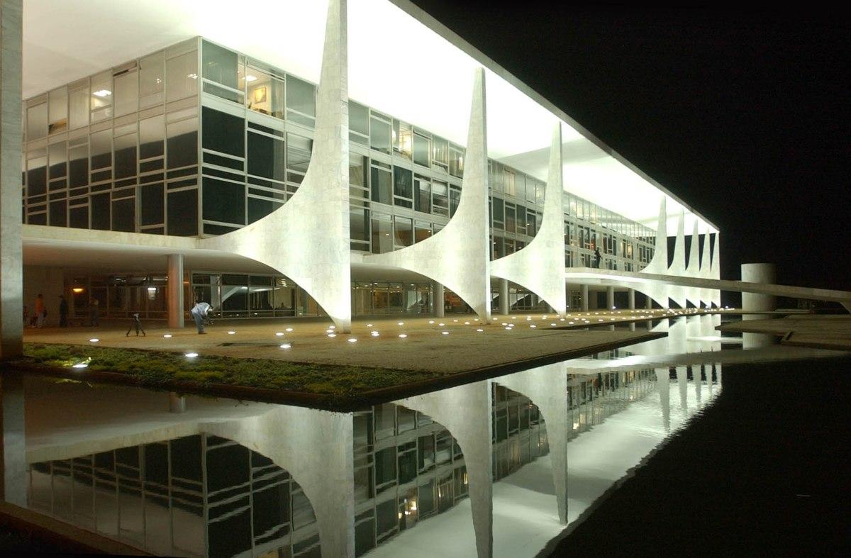 Le Palaciodo Planalto de Brasilia - Photo libre de droits