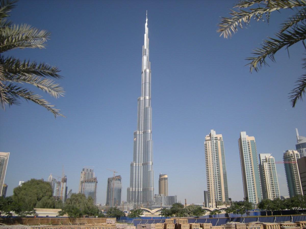 Le Burj Khalifa - Photo libre de droits