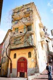 La P'tite Cocotte: La vue de la terrasse