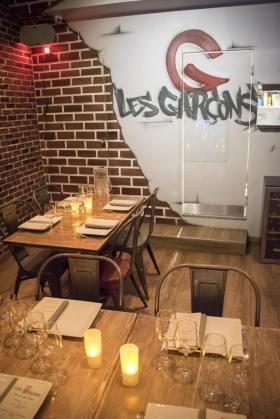Les Garçons: salle à manger