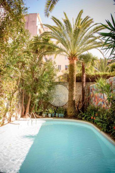 L'hôtel WindsoR à Nice: la piscine