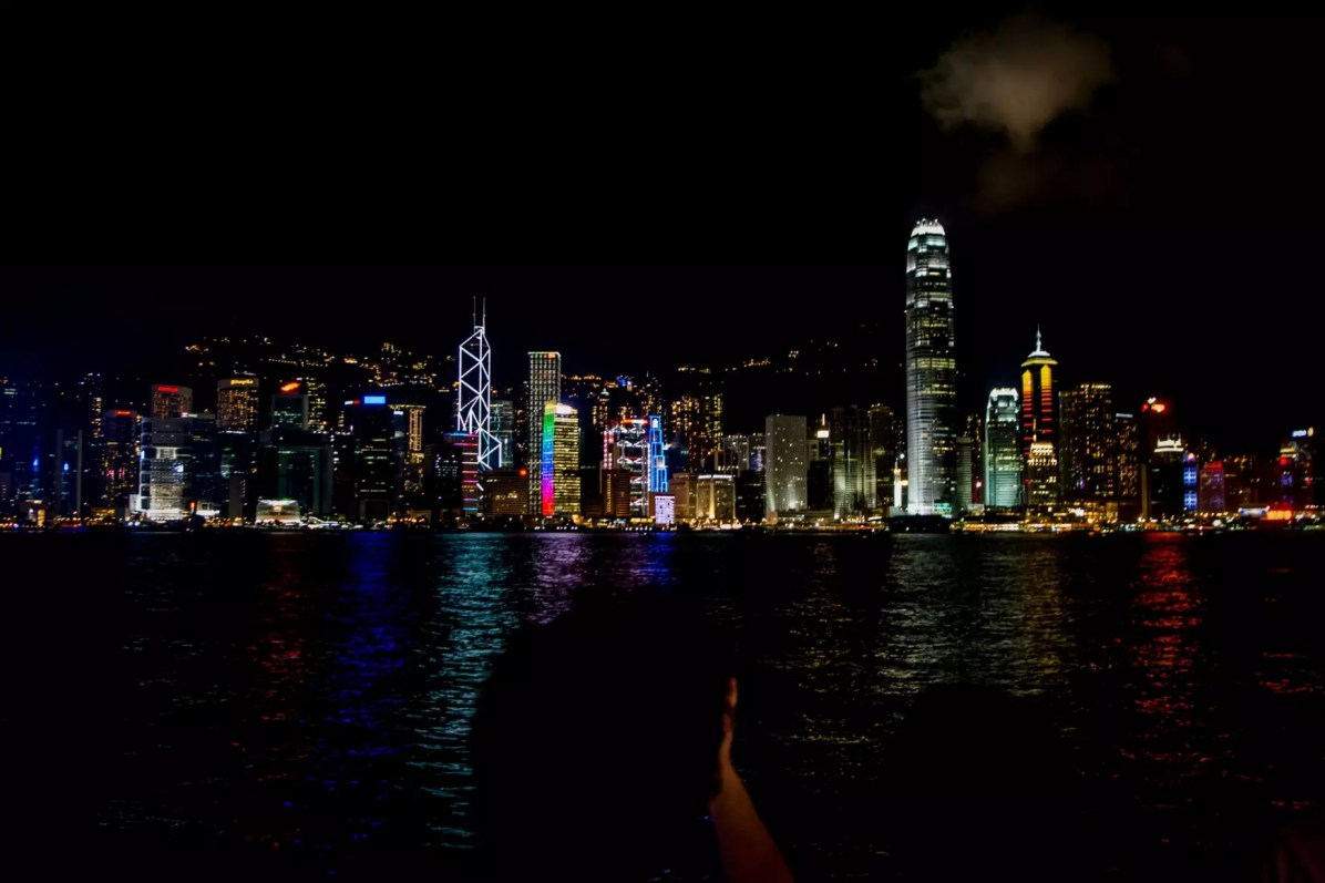 Hong Kong Travel Blog - The Famous Skyline