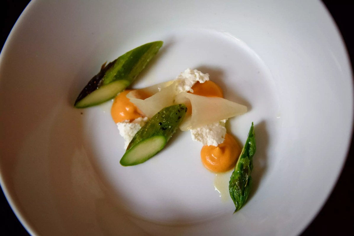 Horváth Restaurant: Amuse-bouche d'asperge