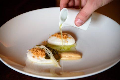 Horváth Restaurant: Légumes racine, blanc d'œuf et chou