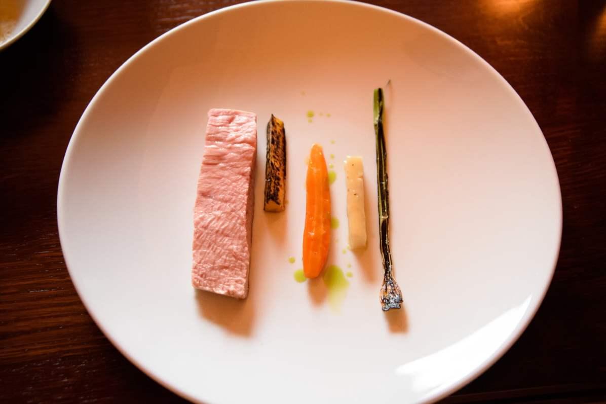 Horváth Restaurant: Veau et légumes racines