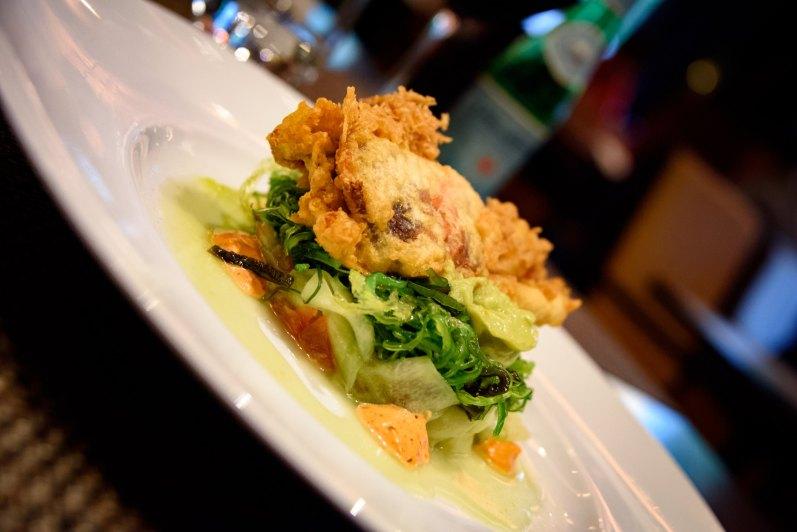 Midtown Grill: Une entrée de crabe à carapace molle