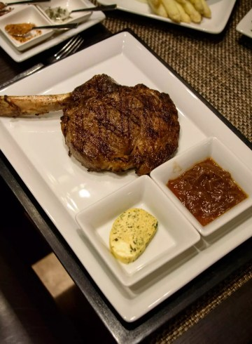 Midtown grill, My steak!