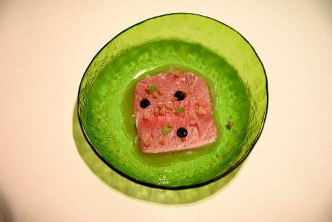 Cinco Paco Perez: tuna escabeche