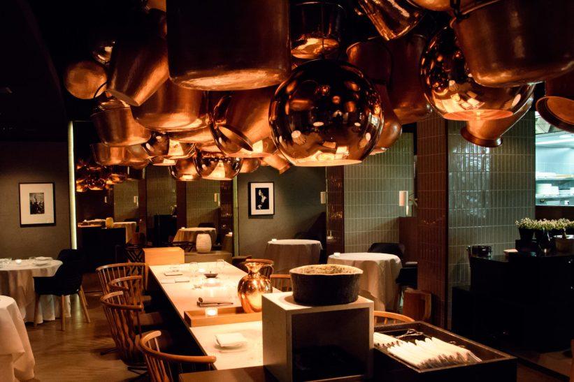 Cinco Paco Perez: The dining room